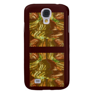 Golden Crystal Graphic Art Galaxy S4 Cover
