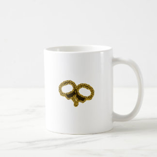 GOLDEN CUFFS CLASSIC WHITE COFFEE MUG