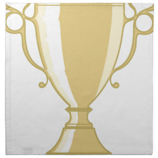 Golden Cup Napkin