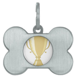 Golden Cup Pet ID Tag