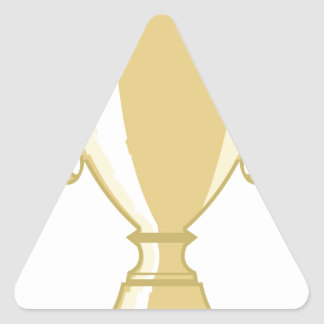 Golden Cup Triangle Sticker