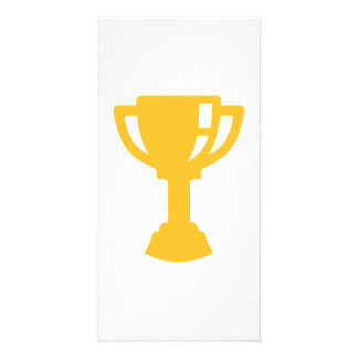 Golden Cup trophy Photo Card