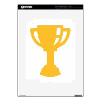 Golden Cup trophy iPad 2 Decals