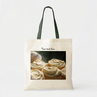 Golden Cupcakes Designs Tote Bags