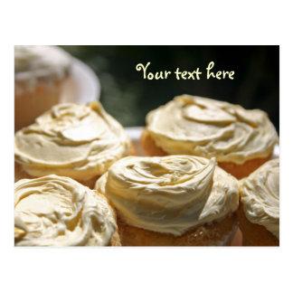 Golden Cupcakes Designs Postcard