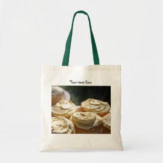 Golden Cupcakes Designs Tote Bag