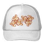 Golden curls trucker hat