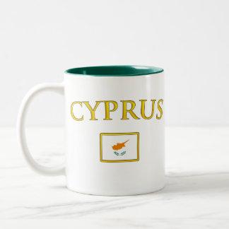 Golden Cyprus Two-Tone Coffee Mug