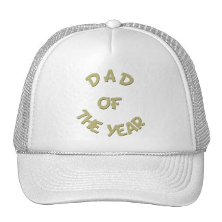 Golden Dad of The Year Hat