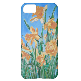 Golden Daffodils Case For iPhone 5C