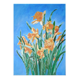 Golden Daffodils Invite