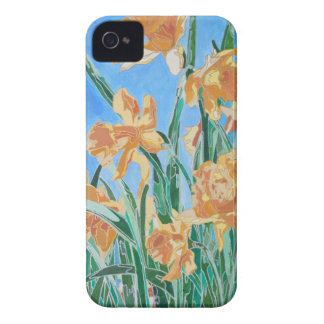 Golden Daffodils iPhone 4 Case
