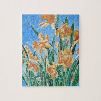 Golden Daffodils Jigsaw Puzzle