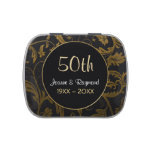 Golden Damask 50th Anniversary - Customize Candy Tins