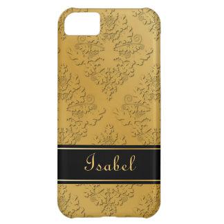 Golden Damask Case Case For iPhone 5C