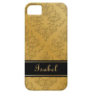 Golden Damask Case iPhone 5 Cases