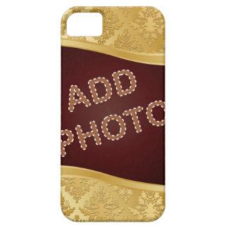 Golden Damask Photo Frame iPhone SE/5/5s Case