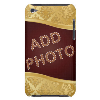 Golden Damask Photo Frame iPod Touch Case