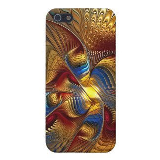 Golden Dancing Dragon iphone case, ipad case, ipod iPhone SE/5/5s Cover