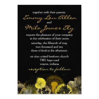 golden dandelion card