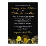 golden dandelion personalized announcement