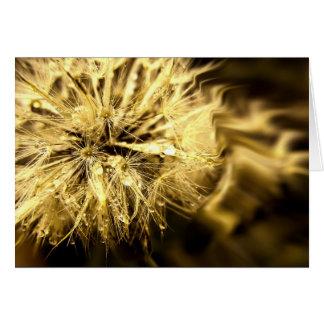 Golden Dandy Dreams Card