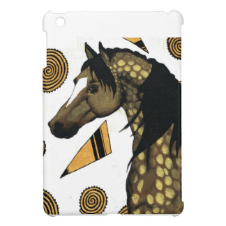 Golden dapples, swirling shapes ,  Charli Windsor iPad Mini Case