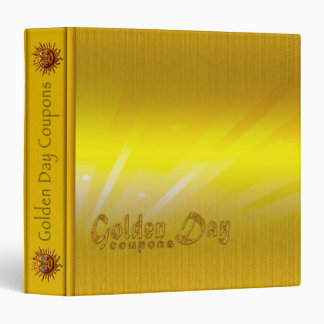 Golden Day Coupons - Avery Signature Binder