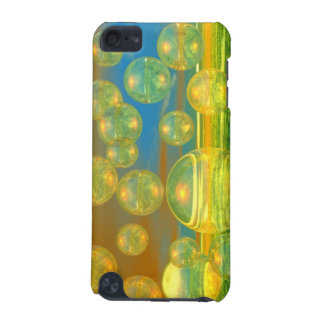 Golden Days - Yellow & Azure Tranquility iPod Touch 5G Cover