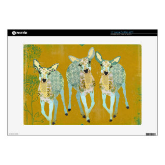 Golden Dearest Deer Laptop Skin