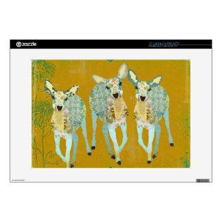 Golden Dearest Deer Laptop Skin