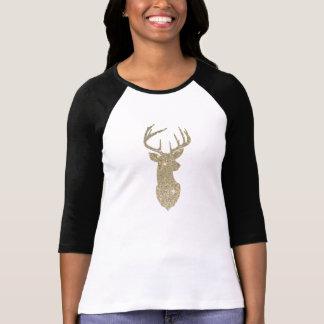 Golden Deer Head Tshirt