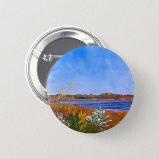 Golden Delaware River Button