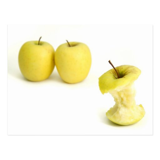 Golden Delicious Apples Post Card