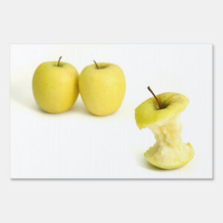 Golden Delicious Apples Sign