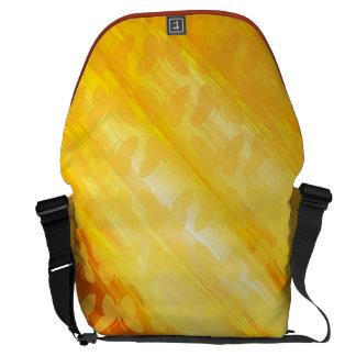Golden Delicious butterflies Courier Bags