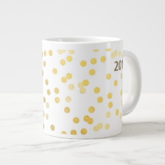 Golden Delicious dots coffee cup