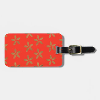 Golden Delicious network Flowers Bag Tag