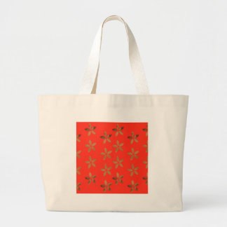 Golden Delicious network Flowers Large Tote Bag