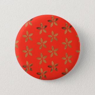 Golden Delicious network Flowers Pinback Button