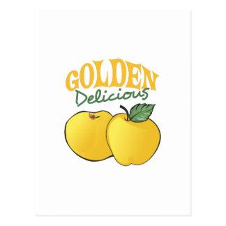 GOLDEN DELICIOUS POSTCARD
