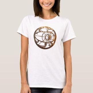 Golden Delicious Pre-colombian sunburst T-Shirt