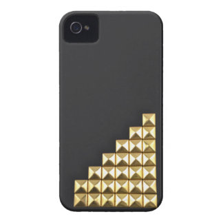Golden Delicious studs iPhone 4 Case