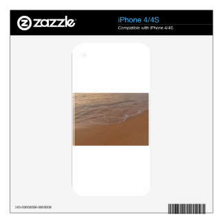 Golden Delicious The sand and the is Skin For iPhone 4S
