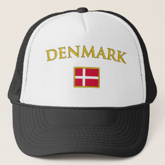 Golden Denmark Trucker Hat