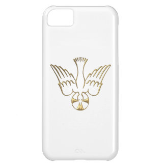 Golden Descent of The Holy Spirit Symbol iPhone 5C Cover