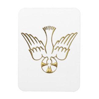 Golden Descent of The Holy Spirit Symbol Magnet