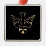 Golden Descent of The Holy Spirit Symbol Christmas Ornament