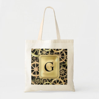 Golden Dharmacakra Canvas Bags