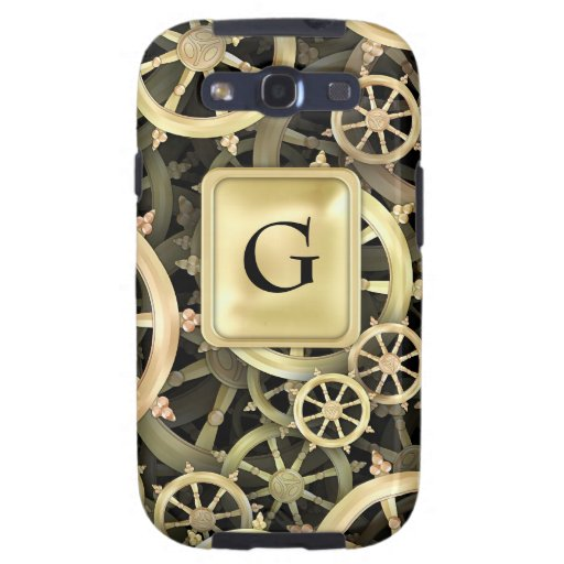 Golden Dharmacakra Galaxy SIII Covers